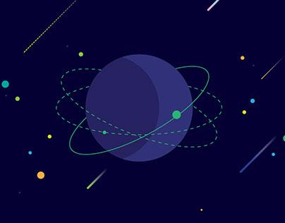 Space orbit ICON