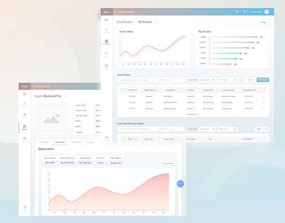 Asset Management Platform - UI/UX Design