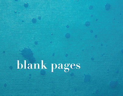 Blank Pages Book Design