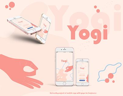 Yogi - mobile app