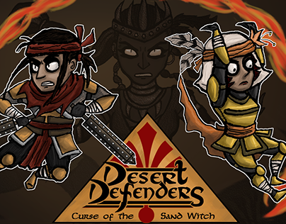 Desert Defenders: Curse of the Sand Witch