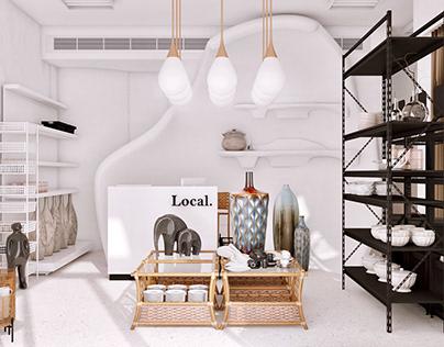 Local. - Ceramics Store Design