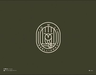 Lineart Owl Logo