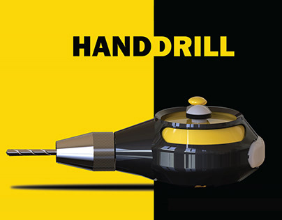 Hand Drill-Techno Aesthetic Detailing