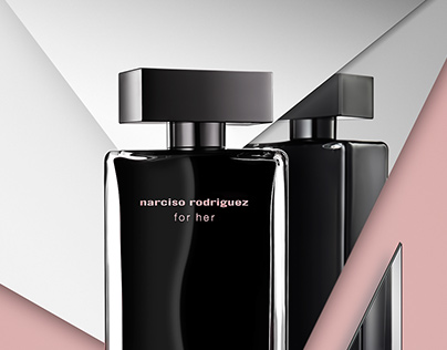 Narciso Rodriguez for her  mirrors perfume photography