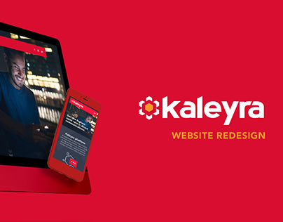 Kaleyra Website Redesign