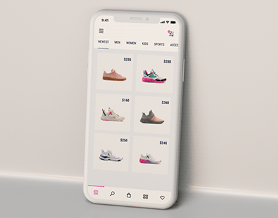 UI Animation Concept for an Application