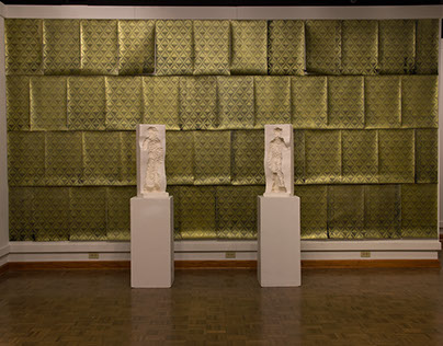 """Facade"" Exhibit/Installation by Jordan Tate"