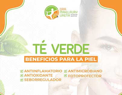 Laury Estetic - Té Verde Beneficios para la Piel