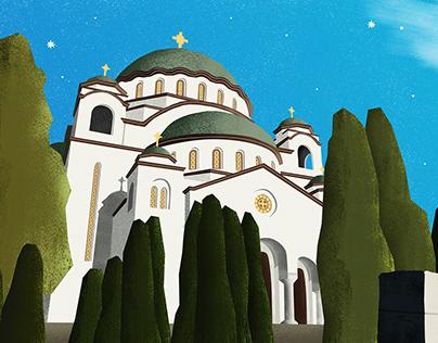 Belgrade Illustrations