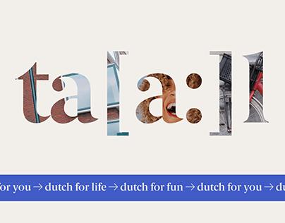 Ta[a:]l - Dutch language school