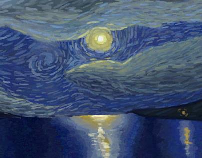 Van Gogh Art style