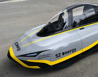 SZEnergy race car paint design