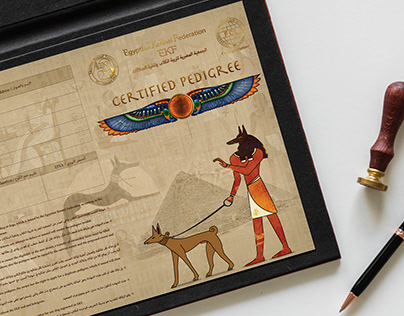 EKF Egyptian Kennel Federation - CERTIFIED PEDIGREE