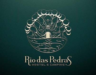 Logo Rio das Pedras - Hostel e Camping