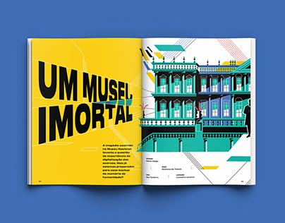 GALILEU Mag | Immortal Museum (Brazil National Museum)