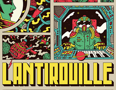L'ANTIROUILLE x Posters