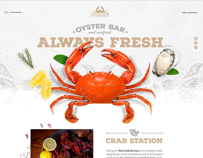 The Crab Station Website