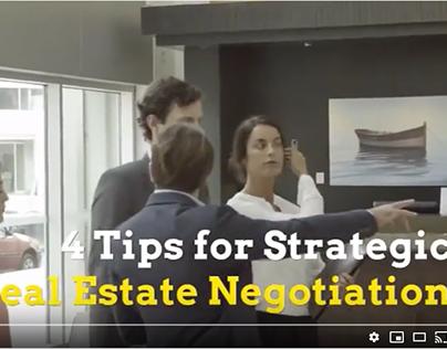4 Tips for Strategic Real Estate Negotiation