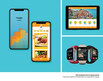Viaggio traveling app for Liguria Italy