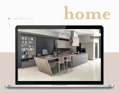 Pedini, Website redesign