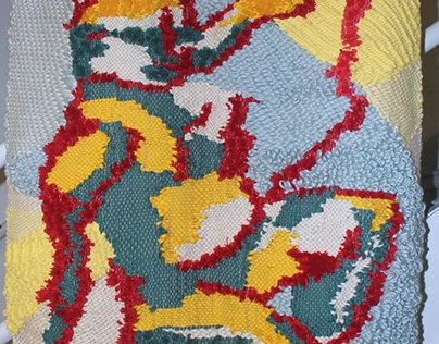 Woven Rug Project, Feb 2016