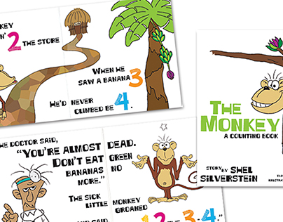 The Monkey Counting Book
