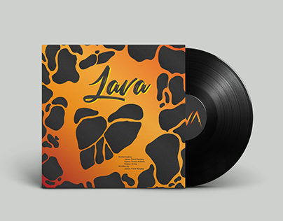 Lava Song Vinyl Record Design