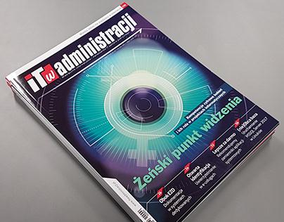 Layout of IT w Administracji Magazine