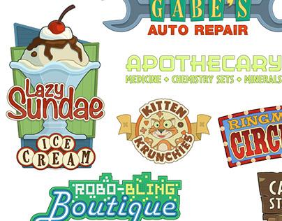 Logos and Signage