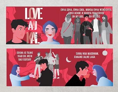 Story boarding - Love aaj kal