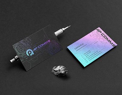 Asia Pacific Communications IT_Branding Design
