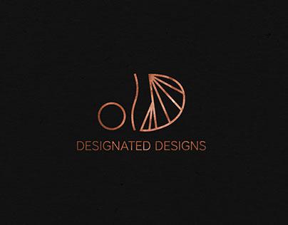 Designated Designs Brand Identity Design.
