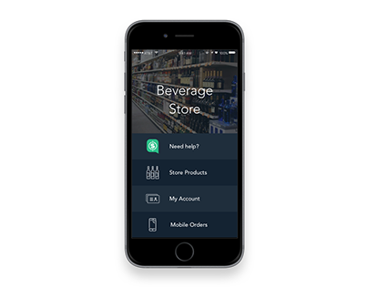 Sellr: manage your online beverage store (prototype)