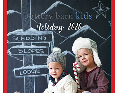 Pottery Barn Kids Holiday 2020 collection