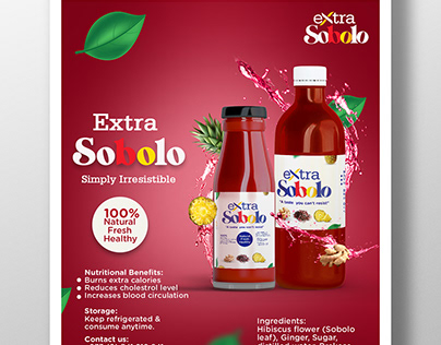 Extra Sobolo Flyers & Labels