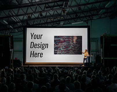 Presentation Slide Mockup [FREE PSD]