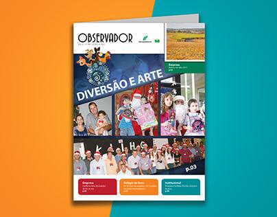 Projeto gráfico, editorial e desenvolvimento de textos