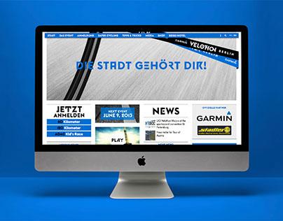 Garmin Velothon Berlin Website