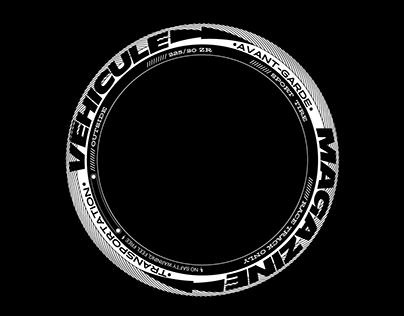 Véhicule Magazine Visual [Type & Graphic Design]