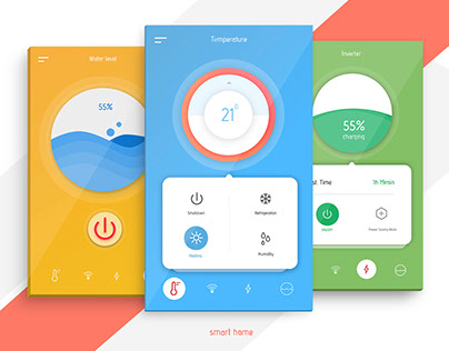 Smart Home   Home Monitoring App