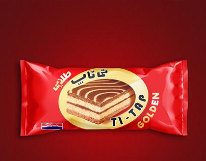 Ti - TAP cake ( GOLDEN )