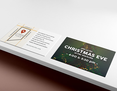 Christmas Eve Invite Cards