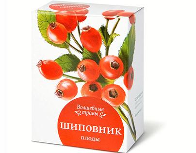series of herbal teas magic herb