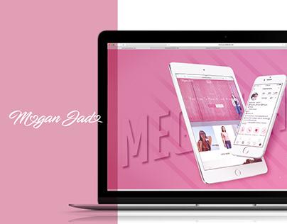 MEGAN JADE | Brand Design | Website Design