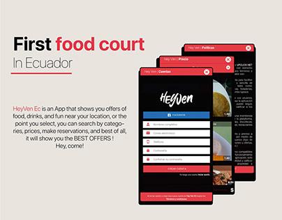 Hey Ven - Food Court Ecuador