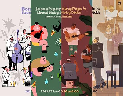 Concertposter Series