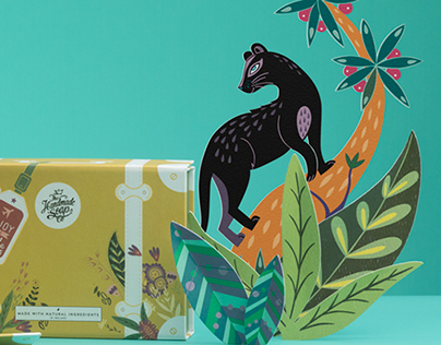 Gift Set Packaging Design - The Handmade Soap Company