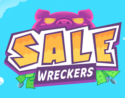 Sale Wreckers - Mobile Game Mockup