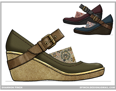 Footwear Design - Casual & Comfort